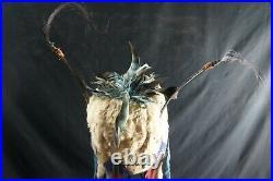 170# Antique Shamanic Headdress Plain Indian