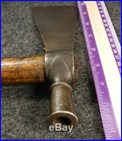 1770 Sioux Indian Pipe Tomahawk Head Forged From Gun-barrel