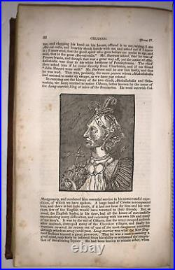1833, 1st Ed, THE BOOK OF THE INDIANS OF NORTH AMERICA, DRAKE, NATIVE AMERICANS