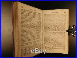 1843 History of King Philips War Native American INDIAN Warfare Tactics Church
