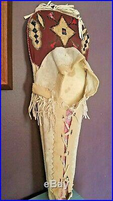 1900 antique Cradle Board Blackfoot Native American Indian