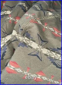 2010 Collection RRL Ralph Lauren Double RL Western Indian Print Sweater Large L