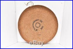 ATQ Cahuilla Mission Shallow 15 basket california native american indian 1920s