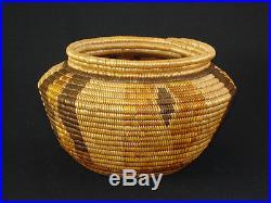 A California polychrome Chemehuevi basket, Native American Indian, circa 1910