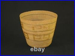A Fine Northwest Tlingit Native American Indian Basket, Circa 1910