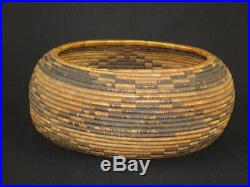 A Finely Woven Early Pomo Gift Basket, Native American Indian, Circa 1900