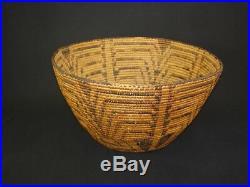 A Pima Basket, Native American Indian, Circa 1920