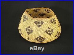 A Pit River Gift Basket, Native American Indian, Circa 1905