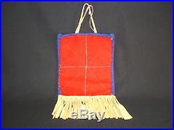 A Plateau Beaded Bag, Native American Indian, Circa 1925