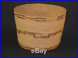 A Tlingit basket, American Indian basket, circa 1910