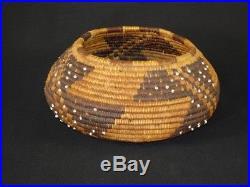 A Very Early Pomo Basket, Native American Indian, Circa 1895