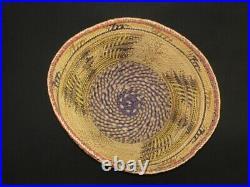 A Very Nice Northwest Skokomish, Native American Indian basket c. 1935