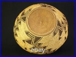 A large Pit River fancy Basket, Native American Indian, Circa 1905