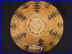 A very fine Pomo bowl, Native American Indian, Circa 1915