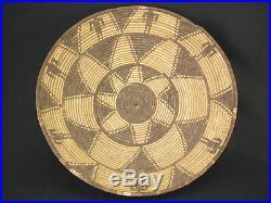 A very nice Apache tray, Native American Indian Basket, Circa 1900