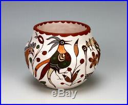 Acoma Pueblo Native American Indian Pottery Bird Bowl #3 Diane Lewis