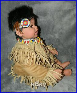 Adora 2008 Collectible Native American Indian Doll Papoose Limited Edition 22