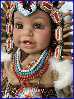 Adora 22 LTD Vynil Doll Tyee Indian 2008 RARE HTF