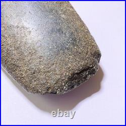Ancient Native American Indian Artifact Stone Axe Head Blade Rock Tool Weapon