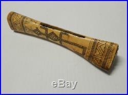 Antique Hupa Indian Elk Antler Dentalium Shell Purse Investment Grade California