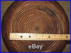 Antique Late 1800's Southwest Native American Indian Large 15 x 7 Work Basket
