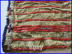 Antique Native American Indian Bag Pouch Plain Indian Sioux Rare Masterful Art