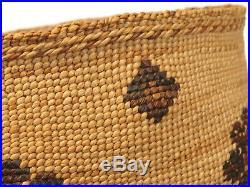 Antique Native American Indian Klammath Modoc Basket Northern California Hupa