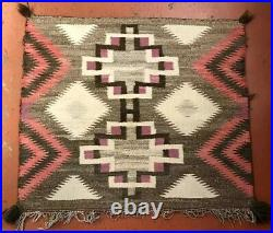 Antique Navajo Rug Germantown Saddle Blanket Throw Native American Indian Bayeta
