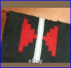 Antique Navajo Rug Germantown Sampler Native American Indian Weaving 40x21