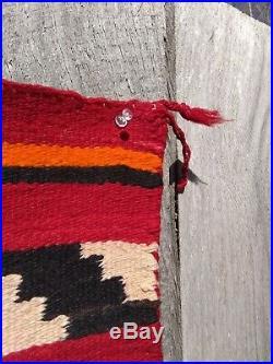 Antique Navajo Rug Hopi Blanket Native American Indian Weaving