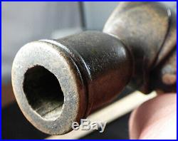Authentic 1780's sioux indian pipe tomahawk gun barrel head + forged lap weld
