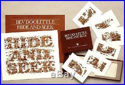 Bev DoolittleHIDE AND SEEKCamoflauge-Indian-Native American-Horses-Art-$1200