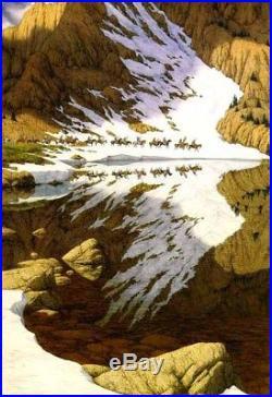 Bev Doolittle SEASON OF THE EAGLE Camoflauge-Indian-Native American-Alaska-Art