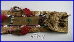 Blackfoot native American Indian beaded Smoking Otter Medicine Bundle rare