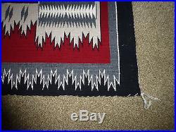 Casrpets-indian Artifacts Navajo Ganado Storm Pattern Rug