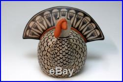 Cochiti Pueblo Native American Indian Pottery Turkey Mary Janice Ortiz
