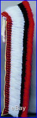 Deluxe Warbonnet Headdress Feathers Indian Regalia Pow Wow Tribal