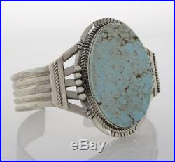 Dry Creek Turquoise Bracelet By Navajo Artist John Nelson