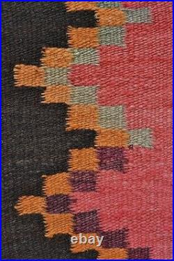 EXTRAORDINARILY BEAUTIFUL INDIAN TAPESTRY BLANKET Antique Andes Textile TM7595