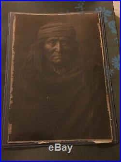 Edward Curtis Eskadi Apache Indian Native American Platinum Photogravure 1903