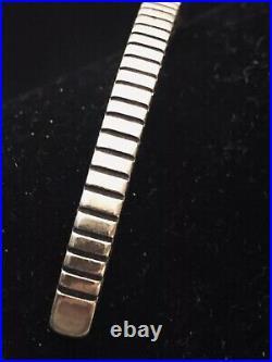 Emerson Bill Heavy Cuff Bracelet Native American Indian Sterling Silver