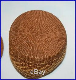Fine Alaskan Indian Tsimshian Cedar Basket Native American First Nation Basketry