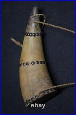 Gun powder horn Plains Indians Native American