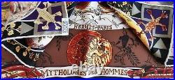 HERMES Mythologies des Hommes Rouges SILK SCARF Kermit Oliver Native American