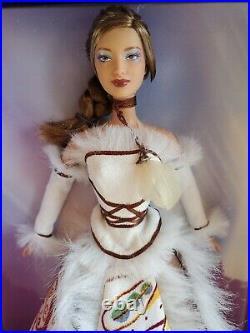 Inuit Legend Barbie Doll Gold Label Native American Indian Canada VG Inuite