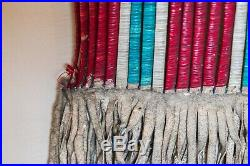 Lakota Beaded Quilled Hide Pipe Bag 19th Century Sioux Indian Native American