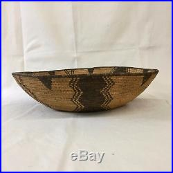 Large Native American Indian (Western Apache Yavapai) Basket Early 1900s