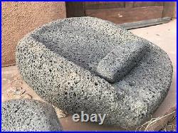 Large Prehistoric Ancient Southwestern Native American Indian Metate Artifact