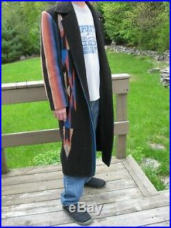 Manuel Indian Blanket Style Overcoat, Nudie, Gram Parsons, Dwight Yoakam