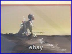 Native American Artist Bobby Hill (White Buffalo) Kiowa Original Painting